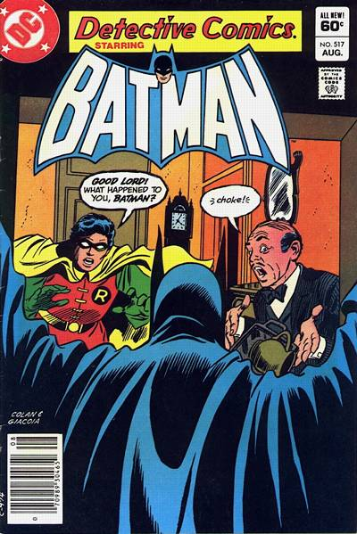 Cover for Detective Comics (DC, 1937 series) #517 [Direct]