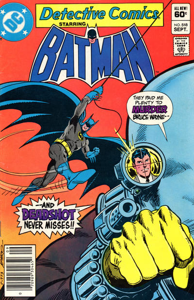 Cover for Detective Comics (1937 series) #518