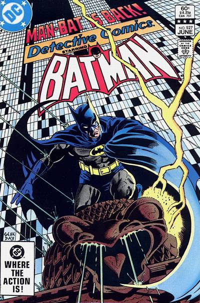 Cover for Detective Comics (DC, 1937 series) #527 [Direct-Sales]