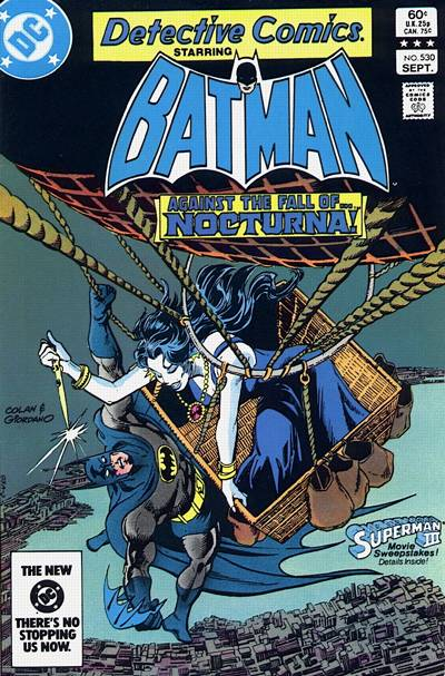 Cover for Detective Comics (1937 series) #530