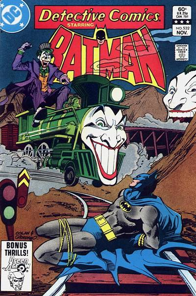 Cover for Detective Comics (DC, 1937 series) #532 [Direct-Sales]