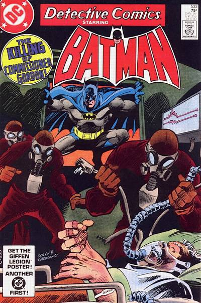Cover for Detective Comics (1937 series) #533