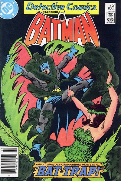 Cover for Detective Comics (1937 series) #534