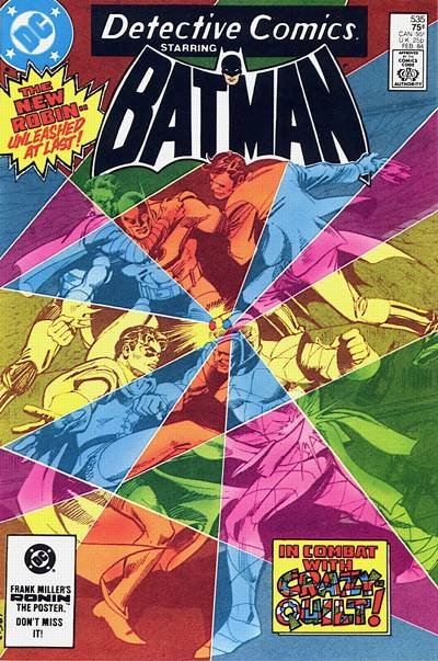 Cover for Detective Comics (1937 series) #535