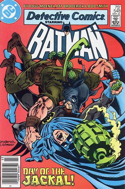 Cover for Detective Comics (1937 series) #548