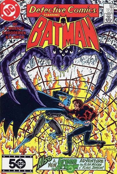Cover for Detective Comics (DC, 1937 series) #550