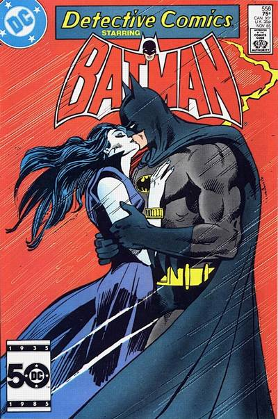 Cover for Detective Comics (1937 series) #556 [Canadian Newsstand]