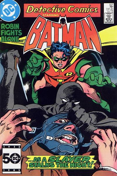 Cover for Detective Comics (DC, 1937 series) #557 [Direct]