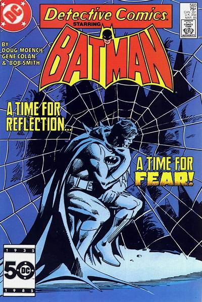 Cover for Detective Comics (DC, 1937 series) #560 [Direct]