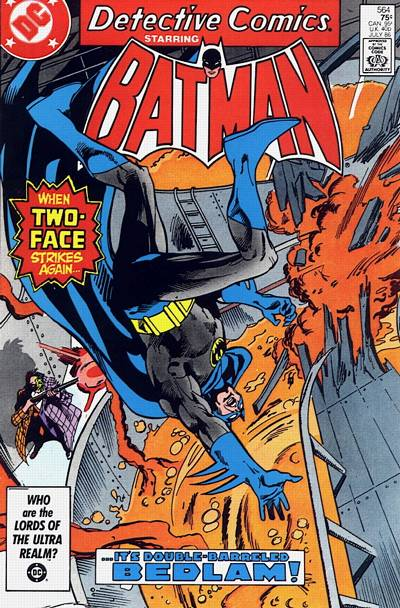 Cover for Detective Comics (1937 series) #564