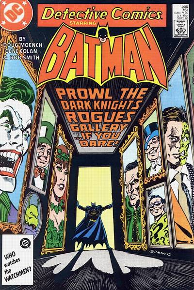 Cover for Detective Comics (DC, 1937 series) #566 [Direct]