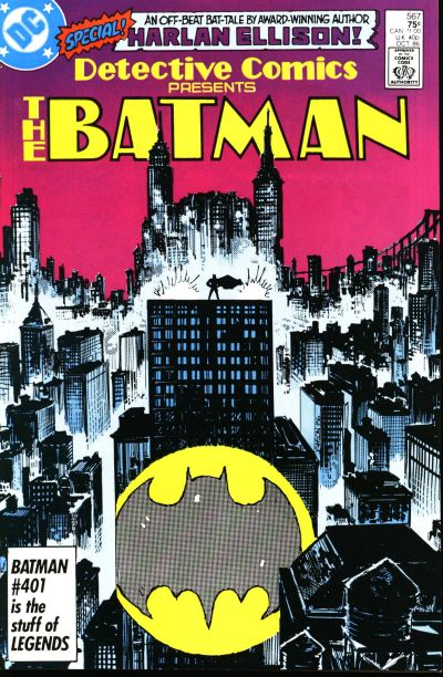 Cover for Detective Comics (DC, 1937 series) #567