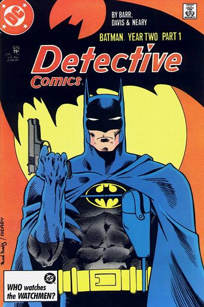 Cover for Detective Comics (1937 series) #575 [Newsstand Edition]
