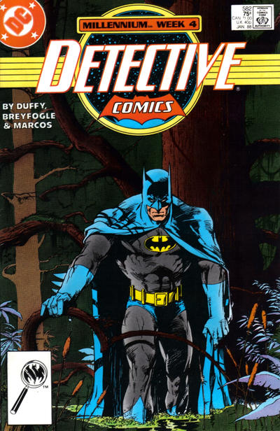 Cover for Detective Comics (DC, 1937 series) #582