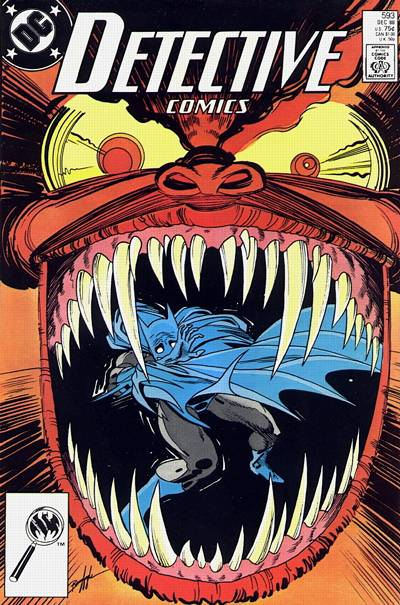 Cover for Detective Comics (1937 series) #593