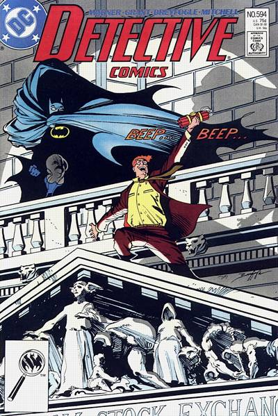 Cover for Detective Comics (DC, 1937 series) #594 [Newsstand]
