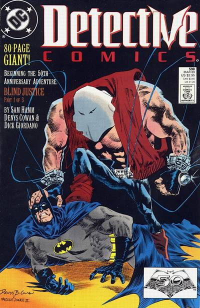 Cover for Detective Comics (1937 series) #598 [Direct]