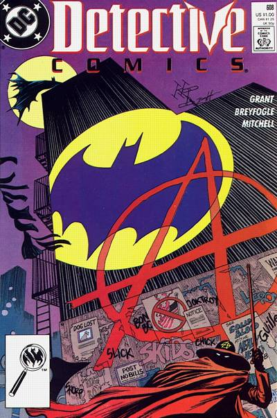 Cover for Detective Comics (DC, 1937 series) #608 [Newsstand]