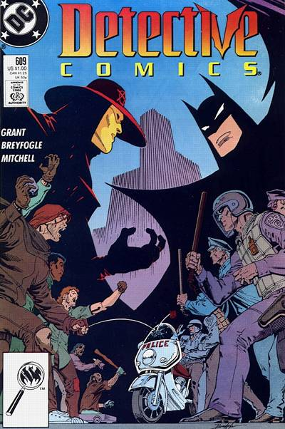 Cover for Detective Comics (1937 series) #609