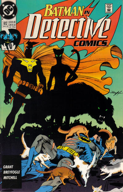 Cover for Detective Comics (DC, 1937 series) #612