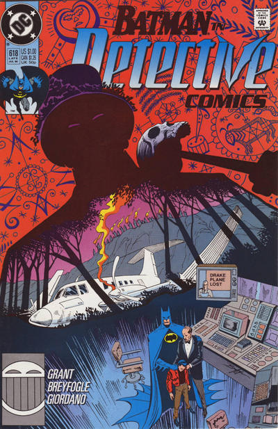 Cover for Detective Comics (1937 series) #618
