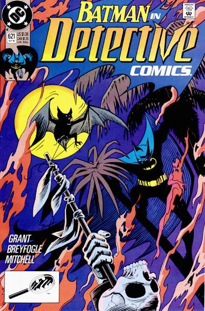 Cover for Detective Comics (1937 series) #621 [Direct]