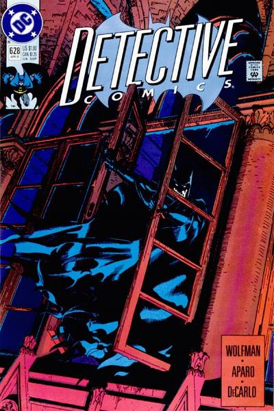 Cover for Detective Comics (1937 series) #628