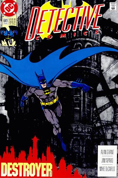 Cover for Detective Comics (1937 series) #641