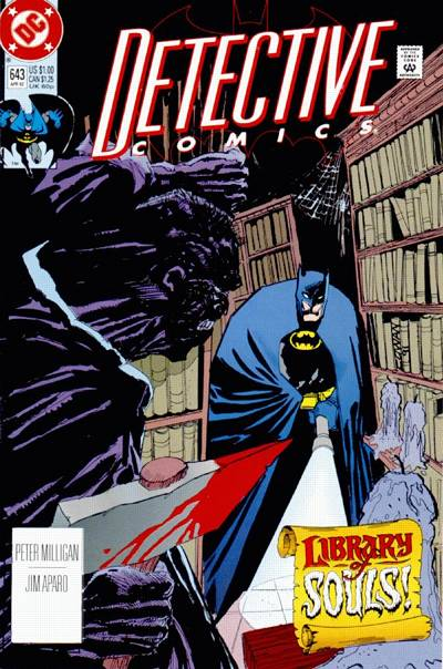 Cover for Detective Comics (1937 series) #643