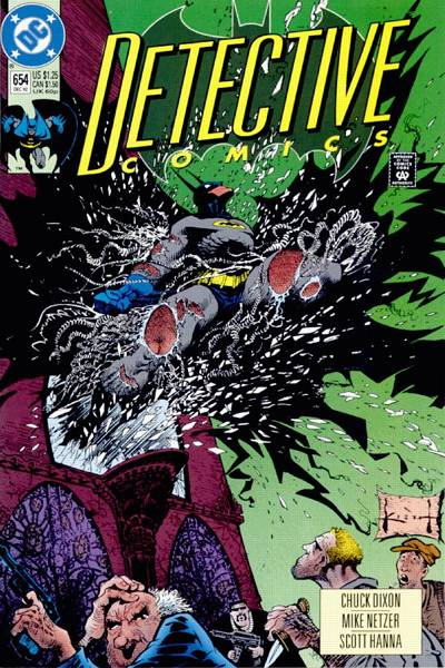 Cover for Detective Comics (DC, 1937 series) #654