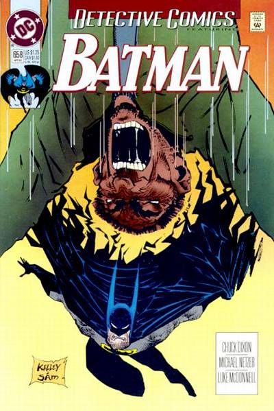 Cover for Detective Comics (1937 series) #658