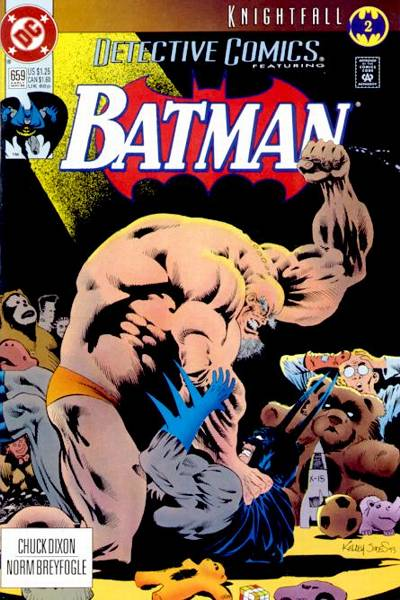 Cover for Detective Comics (1937 series) #659