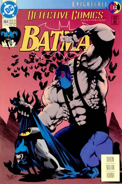 Cover for Detective Comics (1937 series) #664 [Direct]