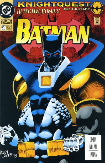 Cover for Detective Comics (DC, 1937 series) #667