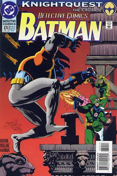 Cover for Detective Comics (1937 series) #674