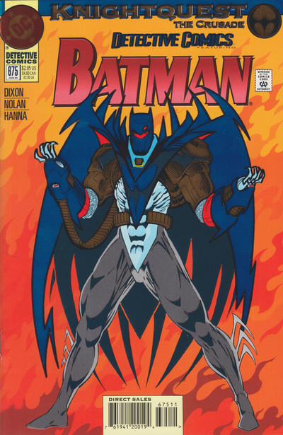 Cover for Detective Comics (1937 series) #675 [Standard Edition]