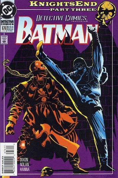 Cover for Detective Comics (1937 series) #676 [Direct]