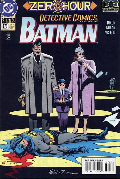 Cover for Detective Comics (1937 series) #678