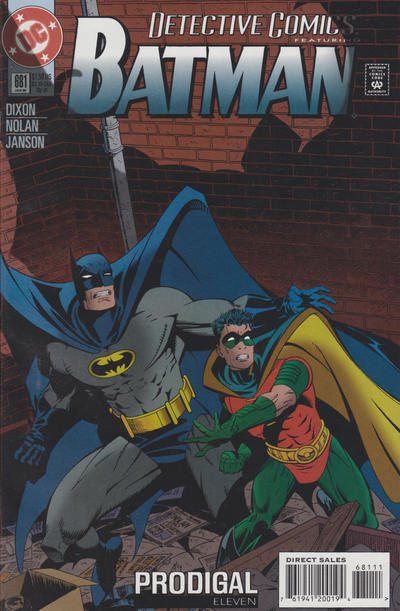 Cover for Detective Comics (1937 series) #681