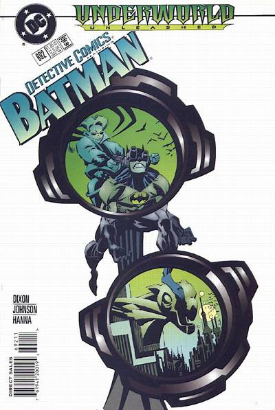 Cover for Detective Comics (1937 series) #692