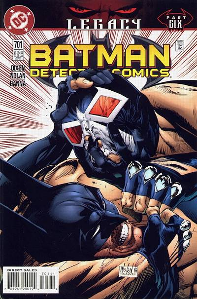 Cover for Detective Comics (1937 series) #701