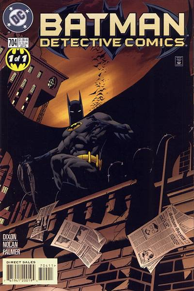 Cover for Detective Comics (DC, 1937 series) #704