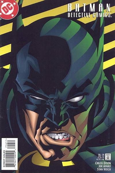 Cover for Detective Comics (1937 series) #716