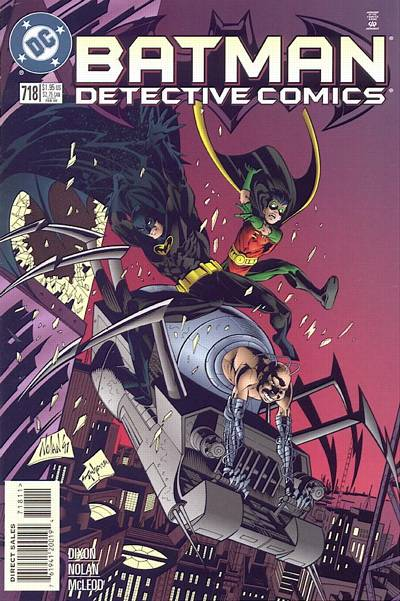 Cover for Detective Comics (1937 series) #718