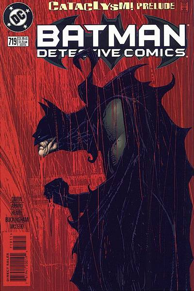 Cover for Detective Comics (DC, 1937 series) #719