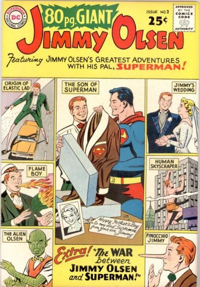 Cover for 80 Page Giant Magazine (DC, 1964 series) #2