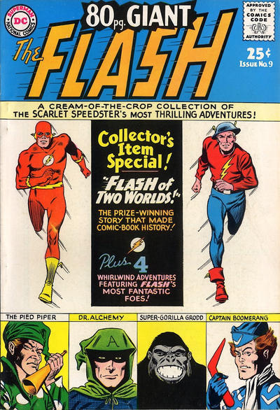 Cover for 80 Page Giant Magazine (DC, 1964 series) #9