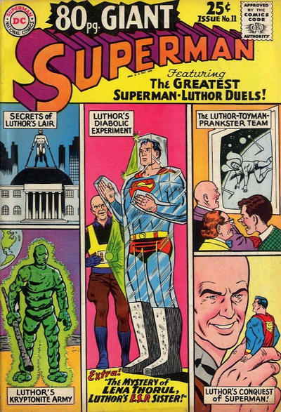 Cover for 80 Page Giant Magazine (DC, 1964 series) #11
