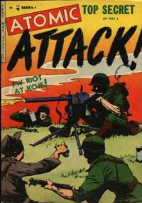 Cover Thumbnail for Atomic Attack (Youthful, 1953 series) #6
