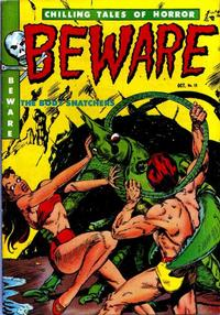 Cover Thumbnail for Beware (Youthful, 1952 series) #12